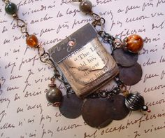 Mini Book Uncle Remus/Brer Rabbit Necklace