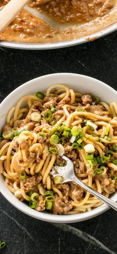 Spicy Sichuan Noodles (Dan Dan Mian). Spicy Sichuan Noodles are a Chinese restaurant favorite, but you don't need to order takeout to enjoy them. Our foolproof recipe will show you how to make this dish at home.