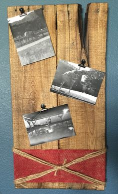 Picture memory board, Memory board, Wooden wall decor, Wall decorations, Wooden decorations, photo memory board, distressed by CraftedSimplyInc on Etsy