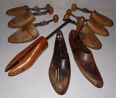 Lot of Shoe Forms O.A.M. Co.