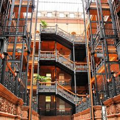 The Bradbury Building is a must-see on any Los Angeles staycation. Several movies have been filmed in this historic building, including The Artist and Blade Runner. Don't be fooled; it looks rather plain and on the outside, but the interior is a gorgeous and ornate feat of architecture.
