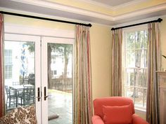 find this pin and more on decorating decoration the choices for the patio door window treatments window treatments for sliding - Window Covering Ideas For Sliding Patio Doors