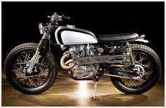 '75 Honda CL360 - Pipeburn - Purveyors of Classic Motorcycles, Cafe Racers & Custom motorbikes