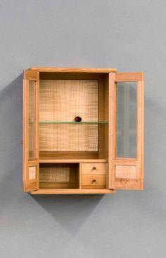 Tiny Cabinet « The Krenov School of Fine Furniture Fine Furniture, Home Decor Furniture, Furniture Projects, Furniture Decor, Woodworking Furniture, Woodworking Projects, Jewelry Box Plans, Woodworking Inspiration, Cupboard Design