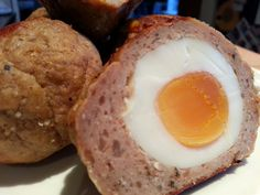 Slimming World Delights: Scotch Eggs Slimming World Menu, Slimming World Fakeaway, Slimming World Recipes Syn Free, Slimming Eats, Deep Fried Recipes, Sliming World, Sw Meals, Scotch Eggs, Food Tasting