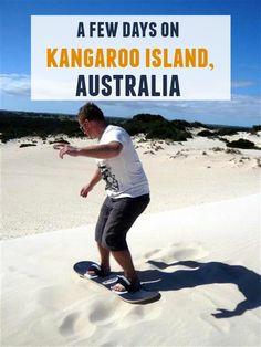 A few days on Kangaroo Island, Australia