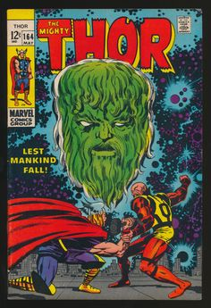 Kirby Covers- Thor #164 (May 1969)