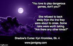 Shadow's Curse, Bk. 4 of the Kyn Kronicles by Jami Gray http://amzn.com/B00RLE3PZU