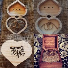 Personalised wooden ring pillow, ring box, rustic, shabby chic, wedding pillow
