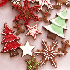Everyone loves a Christmas cookie! Here are the best of the best from Good Housekeeping: 75 delicious triple-tested holiday recipes, from Chocolate Chunk and Gingerbread Cutouts to Mint Peppermint Sticks and Razzy-Jazzy Thumbprints. Best Christmas Cookie Recipe, Christmas Sweets, Christmas Goodies, Christmas Fun, Winter Holiday, Handmade Christmas, Holiday Fun, Christmas Ornaments, Cut Out Cookies