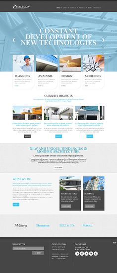 Template 48224 - Architecture  Responsive Website Template