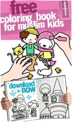 Free Muslim Coloring Book For Kids!
