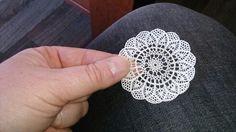 Miniature crochet.