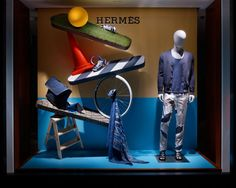 Hermès Spring-Summer 2015 Window Display by Torafu Architects