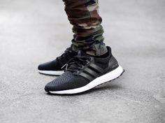 Ultra Boost 2.0 Core Black #sneakers #sneakernews