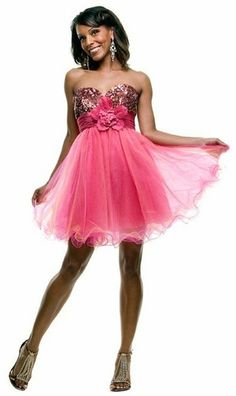 Cheap hot pink formal dresses for women. We carry of dress styles in hot pink; everything from prom, to bridesmaid, to mother of the bride, cocktail, and more. Red Dress Outfit Casual, Pink Dress Outfits, Hot Pink Dresses, Strapless Prom Dresses, Tulle Prom Dress, Prom Party Dresses, Dress Wedding, Homecoming Dresses, Light Pink Cocktail Dress