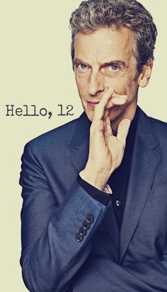 Peter Capaldi, 12th Doctor - AAAAAAAAAH I'M SO NERVOUS AND EXCITED!!!!!!