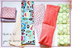 50 DIY Days.... Day 35: Rice filled heating pads!