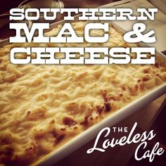 Loveless Cafe's Southern Mac & Cheese.  The key to EXTRA creamy Mac & Cheese is overcooking the pasta so it does not absorb moisture from the sauce!
