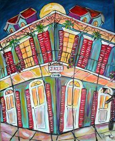 Jazz Club Rhythms Painting 475