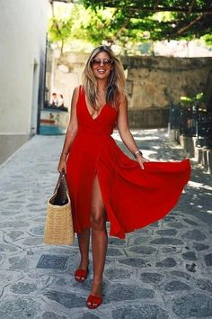 Sexy evening dress - Charming Chiffon Long Prom Dresses With Slit Sexy Evening Dresses – Sexy evening dress Sexy Evening Dress, Evening Dresses, Prom Dresses, Red Summer Dresses, Chiffon Dresses, Natasha Oakley, Best Wedding Guest Dresses, Italy Outfits, Affordable Dresses