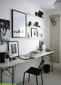 "Home Office from ""Creating the Perfect Home Office: Finding a Space"""