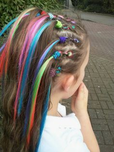 crazy hair day ideas - Google Search