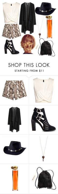"""""""Untitled #262"""" by smileandance ❤ liked on Polyvore featuring H&M, Joe's Jeans, San Diego Hat Co. and Givenchy"""