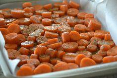 Roasted Carrots with SpicedYogurt