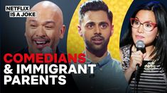 15 Minutes of Comedians on Their Immigrant Parents | Netflix Is A Joke - YouTube British English, American English, Becoming A Doctor, Body Fluid, Comedians, Netflix, Laughter, How To Become, Comedy