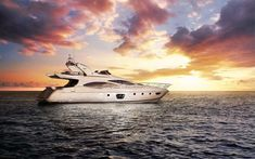 Enjoy a taste of the high life when you take a charter with 68 foot luxury yacht, Hiatus and leave the real world behind! 🛥 Big Yachts, Luxury Yachts, Boat Hire, Boat Rental, Dubai Rent, Sailing Charters, Yacht Week, Dubai Holidays, Charter Boat