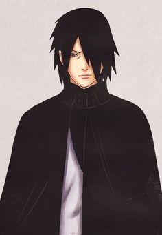 Sasuke Uchiha from the new Art Book (◕◡◕✿)