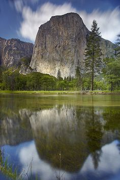 El Capitan - Yosemite National Park, California. My father and both my kids worked here at different times. It's such a  beautiful place.