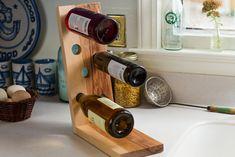 Wine Bottle Holder by MarkhamWoodworksllc