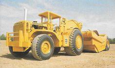 Cat 660  wheel tractor scraper.550 hp & 54 yards