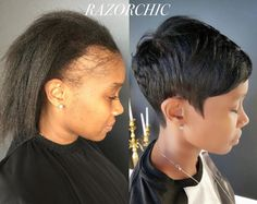 """i feel so bad for women who ruin their edges with """"protective styling"""". protective styling doesn't cause baldness.  5 Ways to Reduce Traction Alopecia - http://tress.guru/29C0Xsc"""