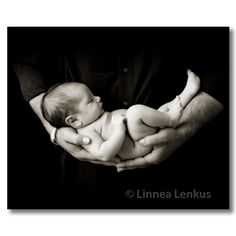 Baby & Dad - Newborn Pictures