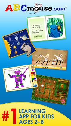 Kids learn reading, math, art and more. Get your kids excited to learn!