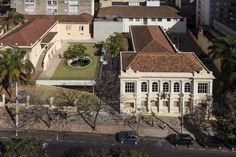 Café do Museu Mineiro e Arquivo Público Mineiro / MACh Arquitetos.  Belo Horizonte, Minas Gerais, Brasil