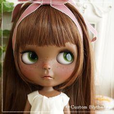 カスタムブライス***Custom Blythe***色黒さん - Auction - Rinkya