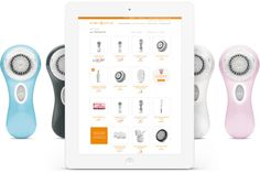 Check out the clean, new look for Clarisonic's website.