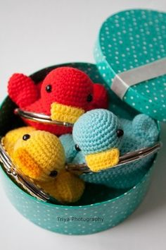 ~ Sweet wallet Duck ~ made by sweetcrochet.nl.