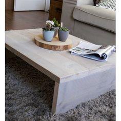 steigerhouten salontafel 60x80