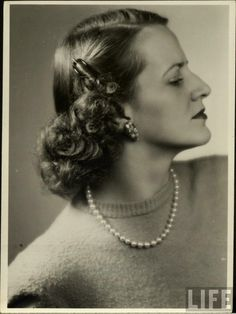 vintage everyday: Bea Hair Women - Beautiful Women's Hairstyles from the 1940s