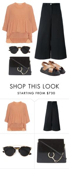 """""""Spring Chic"""" by junglover ❤ liked on Polyvore featuring Chloé, Dolce&Gabbana, Christian Dior and Marni"""