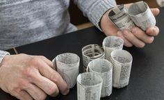 Im Februar und März ist Aussaatzeit für Gemüsepflanzen und Sommerblumen. Mit wenigen Handgriffen können Sie dafür Aussaattöpfe aus Papier selber machen.