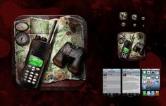 04.04.2013 | icon for Zurvive by GWINCHY #POTD99 #adventure #binoculars #maps
