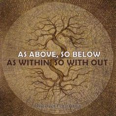 as above so below as within so without - Google Search