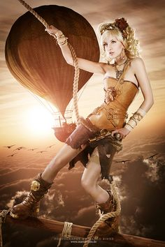 We own the Sky - Bild & Foto von Marco Ribbe Photography aus Steampunk/Retrofuturismus - Fotografie (29109331) | fotocommunity