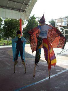 puerto morelos kids face painting festival in town square el centro
